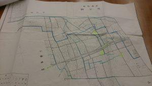 武蔵野村だったころの地図